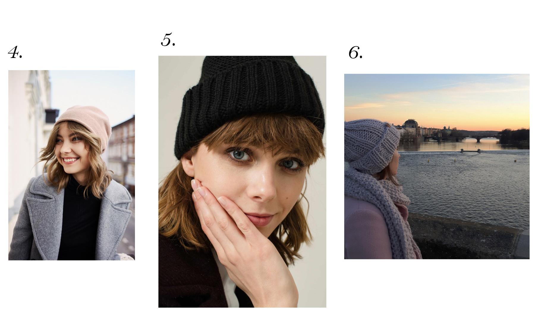 czapka z wełny -1